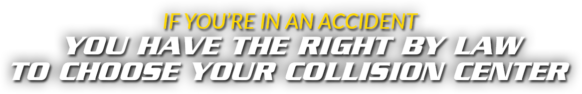 You have the right to choose | Grieco Collision Center Johnston, RI